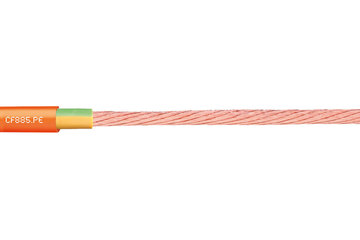 chainflex® motor cable CF885.PE, lead screw cable/single core