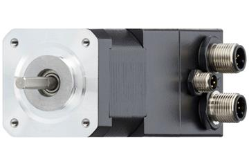 drylin® E stepper motor with connector, encoder and brake, NEMA 17