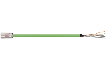readycable® feedback cable acc. to Allen Bradley standard 2090-CFBM4DF-CDAFxx, base cable PUR 7.5 x d