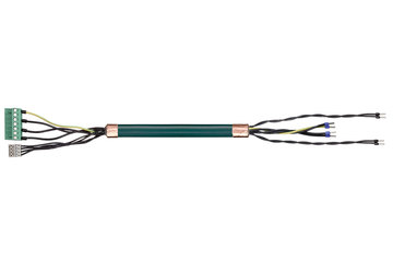readycable® servo cable suitable for Elau E-MO-092, base cable PVC 7.5 x d