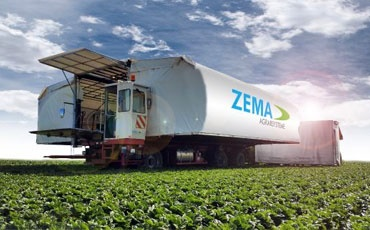Special harvesting machines for semi-automatic harvesting and processing