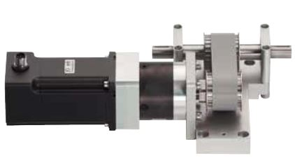 drylin® DC motors with spline